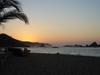 Aube sur la plage de Mazunte