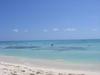 La mer des Caraïbes ; quelle belle couleur !