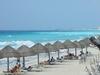 Plage de l'hotel Oasis Cancun