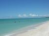 Eaux cristalines dans le golf du Mexique dans l'état du Campeche