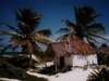Une cabane sur la plage de Tulum