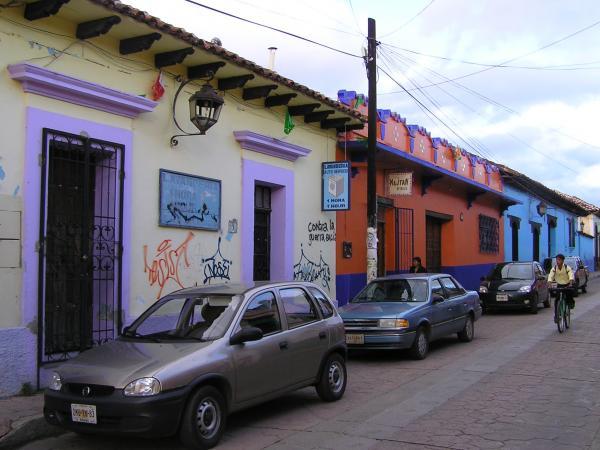 Une rue de San Cristobal