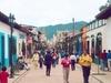 Une rue piétonne à San Cristobal de las Casas