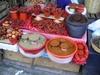 Marché alimentaire à San Cristobal