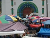 En plein coeur du marché de San Juan