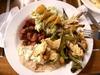 Guacamole poulet et haricots