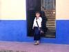 Jeune fille de San Cristobal en tenue de fête