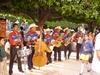 """Los mariachis au """"Jardin de la Union"""" ambience festive et chalereuse"""