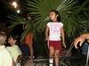 Petite fille mexicaine lors d'une soirée folklorique sur la place de Mérida