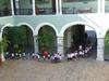 Visite scolaire du palais du gouverneur a Mérida