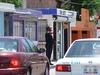 Un policier à Playa Del Carmen