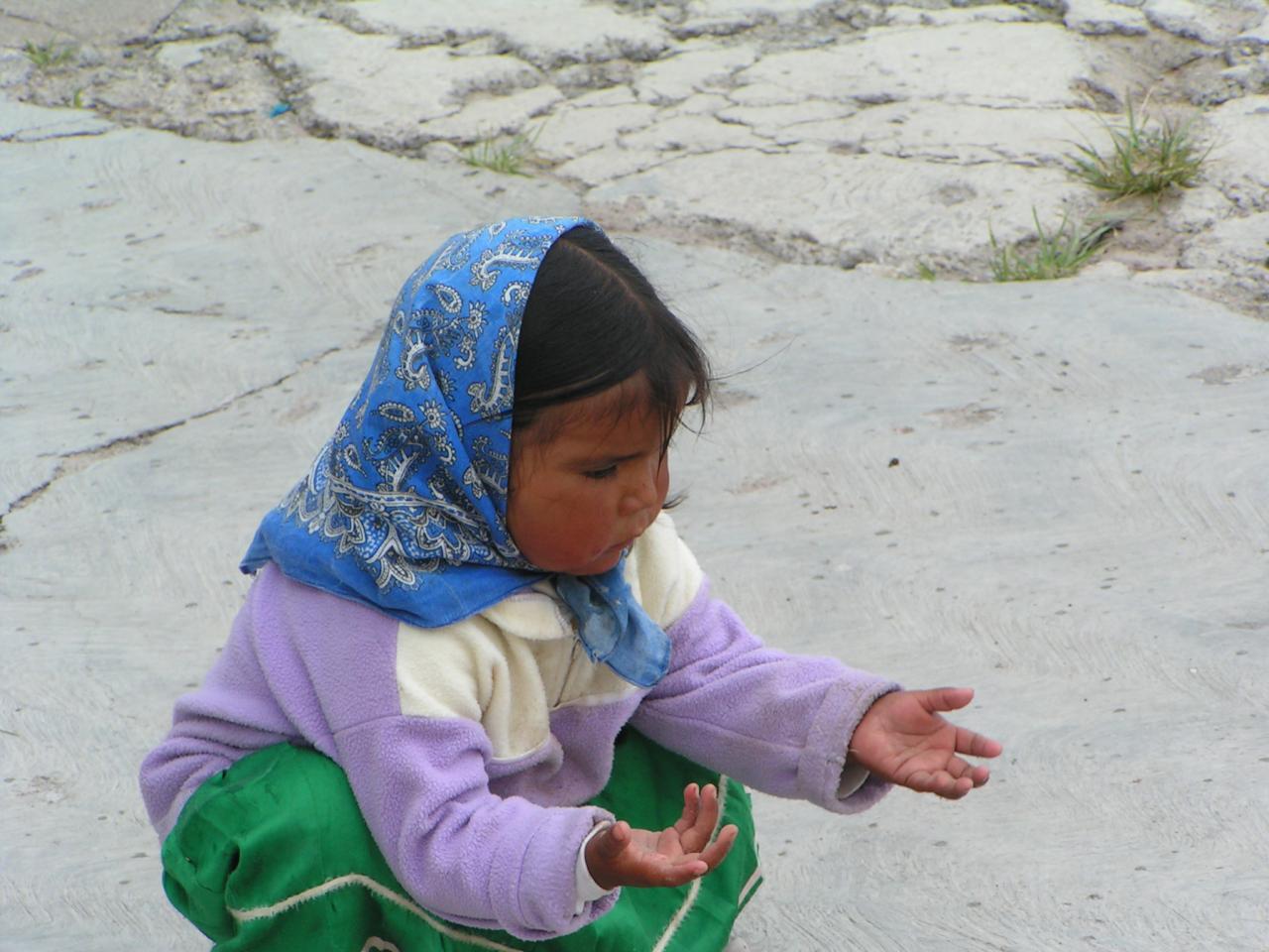 Enfant Tarahumara