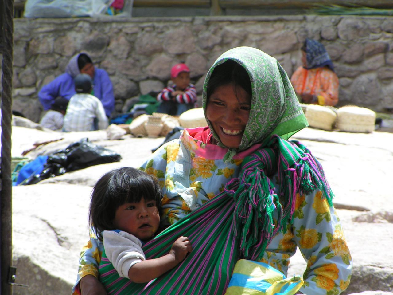 Femme et Enfant Tarahumara