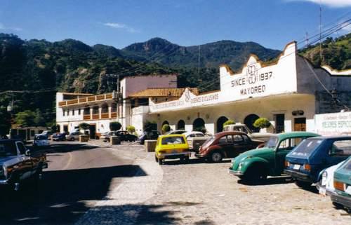 Une rue dans la ville de Taxco