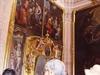 Dans l'église de Santa Prisca...