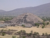 Pyramide de la lune à Teotihuacan