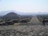 Pyramide du soleil et vallée de la mort