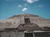 La pyramide du soleil, la plus grande pyramide du Mexique