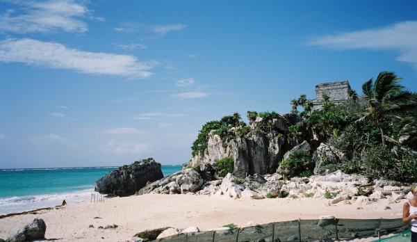 Tulum site Maya unique en bord de mer