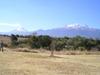 Volcans Popocatepetl (5456 m) et Iztaccihuatl (5286 m)
