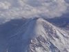 Un volcan vu depuis un avion (photo 2004)