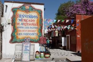 Marché artisanal de San Miguel